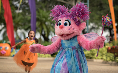 Celebrate Abby Cadabbys Birthday at SeaWorld's Halloween Spooktacular