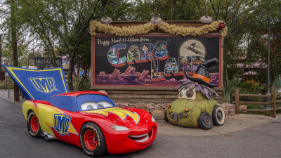 Join the Haul-O-Ween Fun in Cars Land at Disney California Adventure