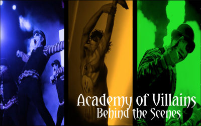 Behind the Scream with Academy of Villains