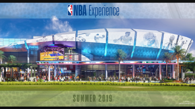 First Look at The NBA Experience Coming to Disney Springs in Summer 2019