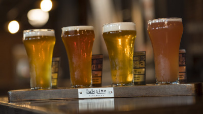 A look Inside BaseLine Tap House at Disney's Hollywood Studios