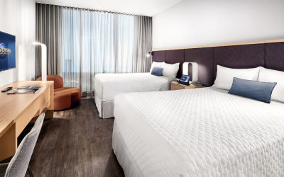 A Look at Universal's Aventura Hotel Guest Rooms