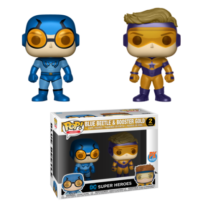Previews Exclusive Blue Beetle & Booster Gold 2-Pack!