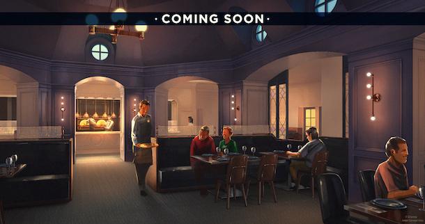 Disney's Yacht Club Ale & Compass Restaurant Menu