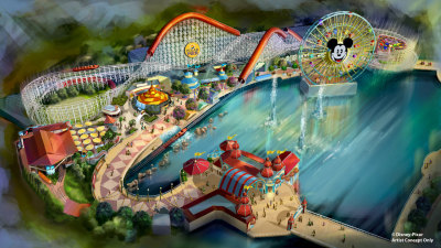 Pixar Pier to Bring New Incredicoaster and More to Disney California Adventure Summer 2018
