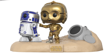 Walmart Exclusive Star Wars Movie Moments Pops Coming Soon