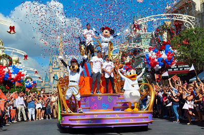 Houston Astros 'Go To Disney World' To Celebrate Historic Championship With Magical Parade
