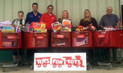 Buy a toy at select Walmart locations to benefit Toys for Tots and get a free kid's ticket to LEGOLA