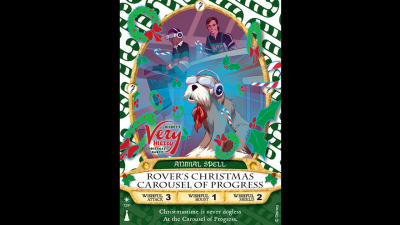Rover's Christmas Carousel of Progress Sorcerers of the Magic Kingdom Card