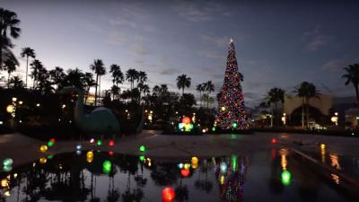 Sneak a Peek at New Holiday Decor at Disney's Hollywood Studios