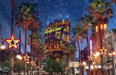 Video: Sunset Seasons Greetings from Disney's Hollywood Studios