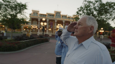 Touching Disney Flag Retreat Ceremony Inspires Special Veteran's Day Weekend