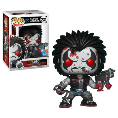 Previews Exclusive Lobo Funko Pop