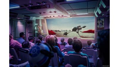 Starspeeder Flight Through Crait on Star Tours – The Adventures Continue at Disney Parks