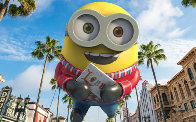 Despicable Me, Shrek, Madagascar & Holiday Favorites Spread Cheer in Universal's New Holiday Parade