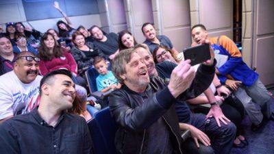 Mark Hamill Surprises Disneyland Park Guests at Star Tours
