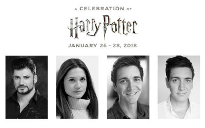 Updated Talent Panels and Experiences for A Celebration of Harry Potter