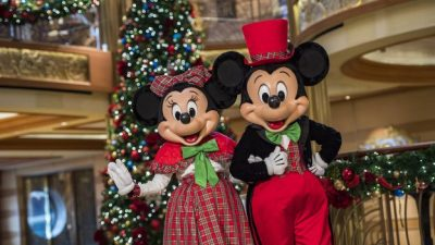Very Merrytime Cruises Bring Holiday Cheer Aboard Disney Cruise Line