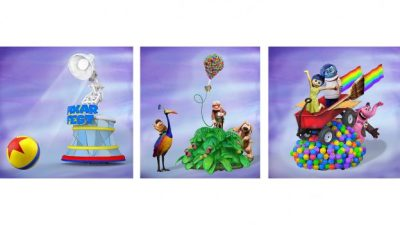 New Story Elements Add to the Fun at the Pixar Play Parade During Pixar Fest Celebration