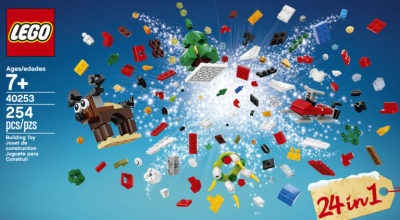 Annual Pass Members: Get this awesome LEGO gift-with-purchase during Christmas Bricktacular