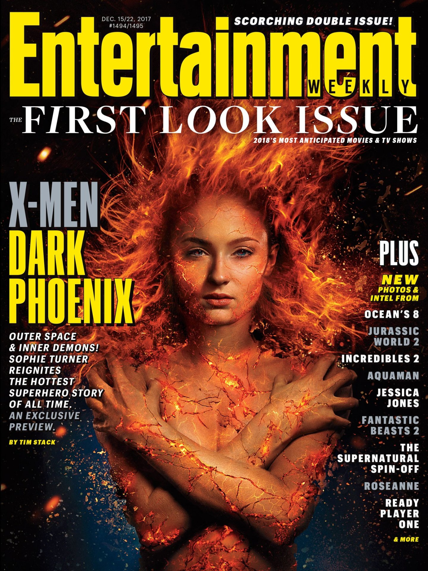 Entertainment Weekly Looks at X-MEN Dark Phoenix