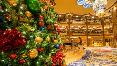 What Goes Into Decorating for Very Merrytime Cruises Aboard Disney Cruise Line