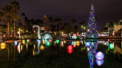 Behind the Scenes At The 'Flurry of Fun' At Disney's Hollywood Studios