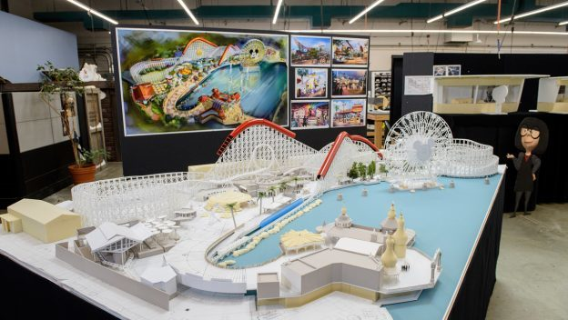 Working Model of Pixar Pier Shows Newly Themed Areas Coming Summer 2018 to Disney California Adventu