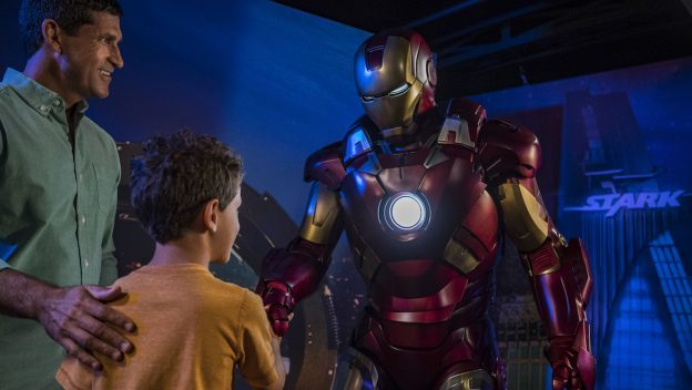 First Official Appearance of Iron Man, Star-Lord, Gamora and Groot during Marvel Day at Sea