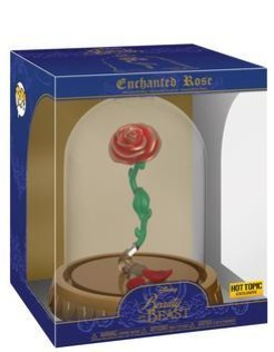 Hot Topic Exclusive Beauty and the Beast Enchanted Rose Dome!