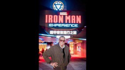 Stan Lee Battles Hydra at Hong Kong Disneyland