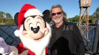 Disney Legend Kurt Russell Shares His Passion For the Holidays, Disney As Candlelight Processional N