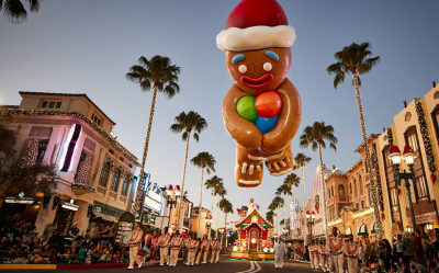 The Story Behind the All-New Holiday Parade at Universal Orlando