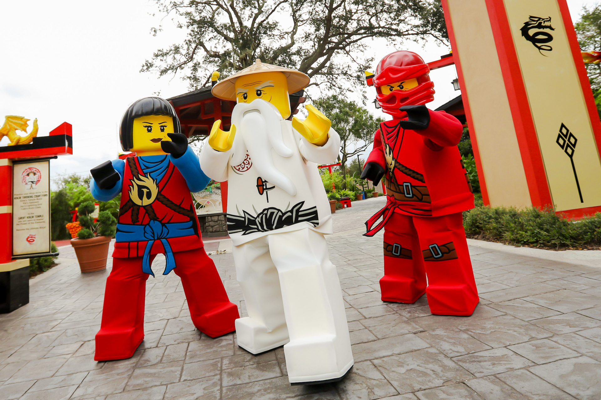 Become the Ninja During LEGO® NINJAGO® Days, an All-New Event at LEGOLAND® Florida Resort