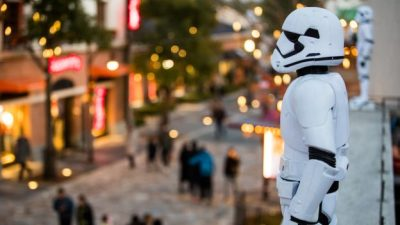 Stormtroopers are Hiding at Disneytown in Shanghai