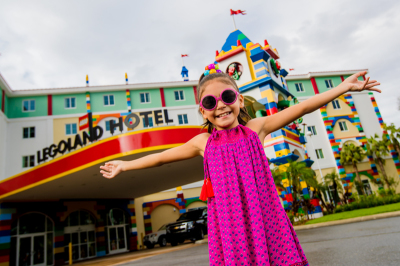 Kids Stay and Play FREE, Starting Today, when you book a LEGOLAND Florida Vacation Package!