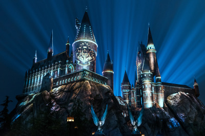 """The Nighttime Lights at Hogwarts Castle"" Projection Show Coming to Universal Orlando"
