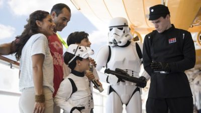 Star Wars Day at Sea Returns to the Disney Fantasy Today