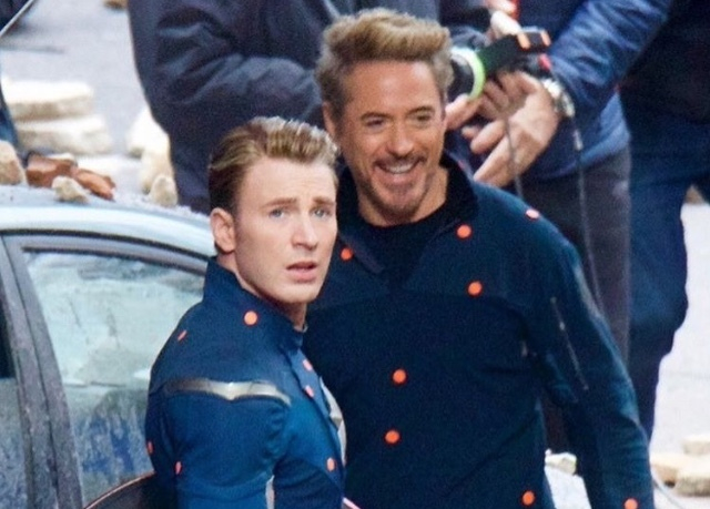 New Photos from Avengers 4 Set