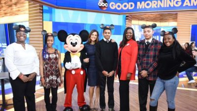 Teens Across America Chosen for Prestigious Disney Dreamers Academy