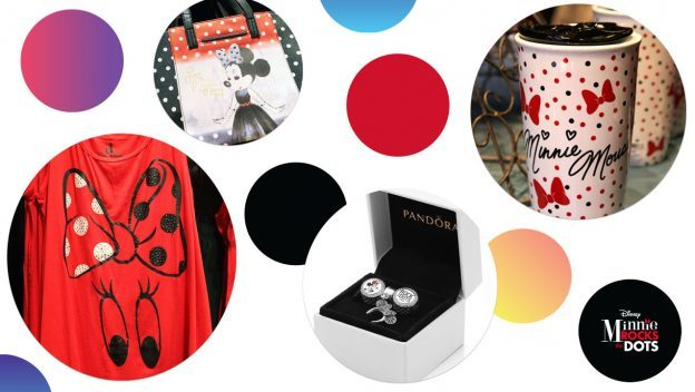 New Minnie Mouse-Inspired Products #RockTheDots for National Polka Dot Day 2018