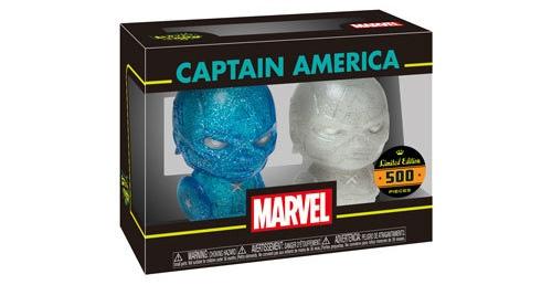 Hikari Friday: Blue & White Captain America!