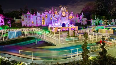 'it's a small world' Mall Get's Dolled Up at Disneyland this Spring