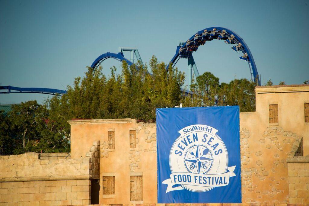 Seven Seas Food Festival Returns to SeaWorld Orlando February 17th