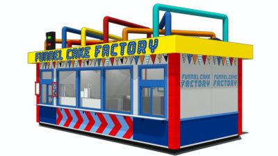 Funnel Cake Factory Opening at LEGOLAND Florida