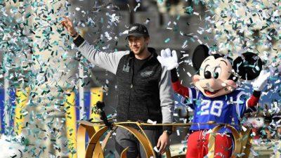 Philadelphia Eagles Star Quarterback Nick Foles Celebrates Super Bowl Title at Walt Disney World