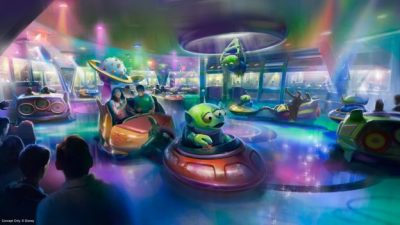 First look at Toy Story Land's Alien Swirling Saucers at Disney's Hollywood Studios