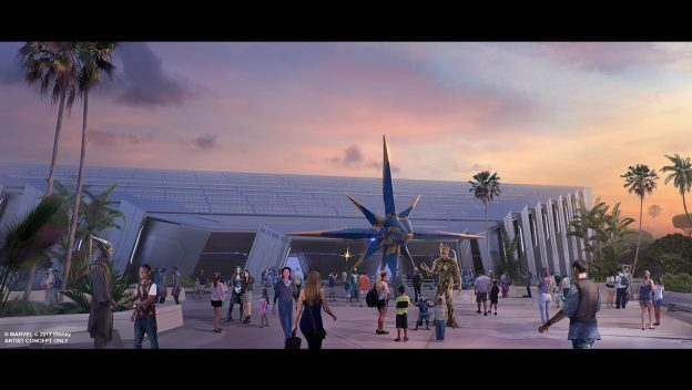 'Guardians of the Galaxy' Attraction at Epcot Will Be One of World's Longest Enclosed Coasters