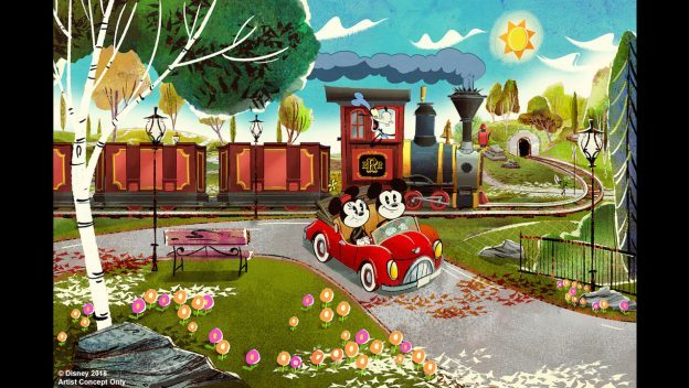 Mickey & Minnie's Runaway Railway Opens Next Year at Disney's Hollywood Studios