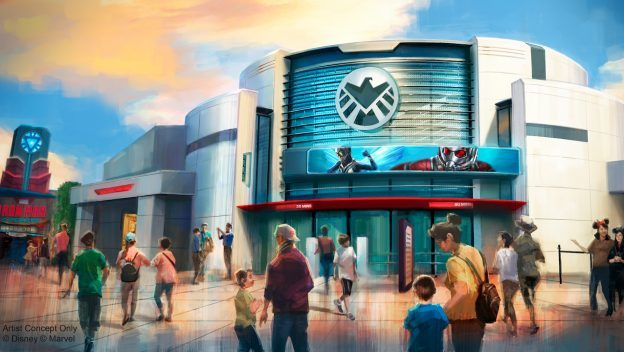 New Renderings of Marvel Attraction Coming to Hong Kong Disneyland